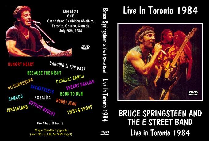 Bruce Springsteen - Live In Toronto (1984) (NTSC DVD)