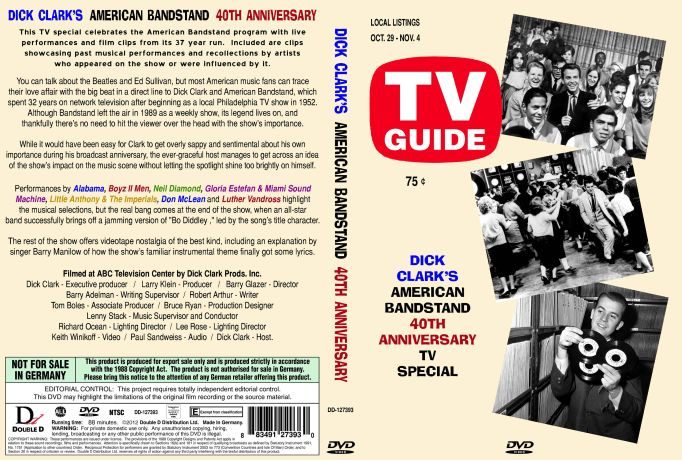 Dick Clark's American Bandstand 40th Anniversary TV Special