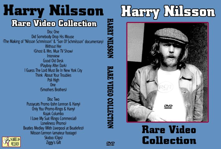 All DVDs :: Harry Nilsson - Rare Video Collection (2 NTSC DVD-Rs